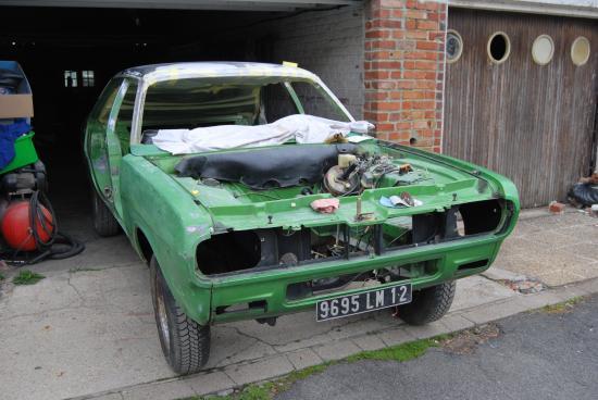 Démontage de la Chrysler